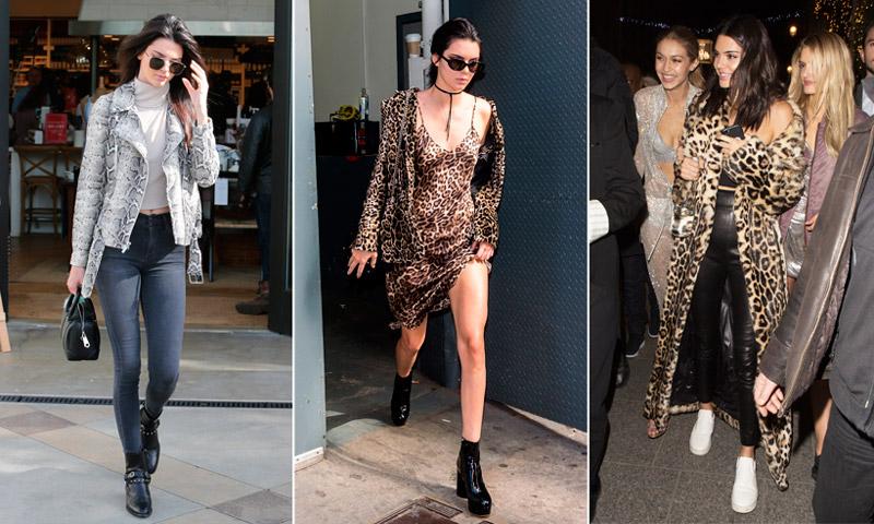 Guía de estilo: Cómo convertirse en la reina del 'animal print', por Kendall Jenner