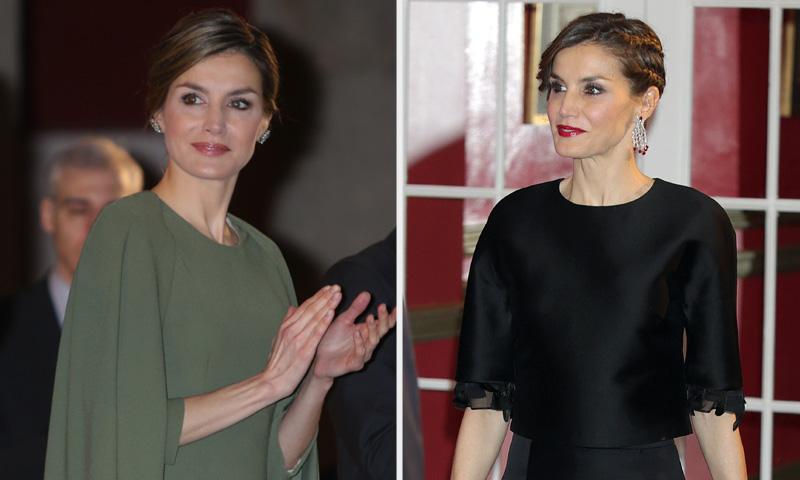 Dos vestidos y una Reina: el mejor 'look royal' de la semana es de...