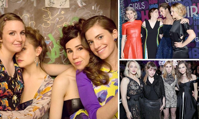 'Girls': cuatro actrices que nos dicen adiós (y aquí un análisis de sus estilos)