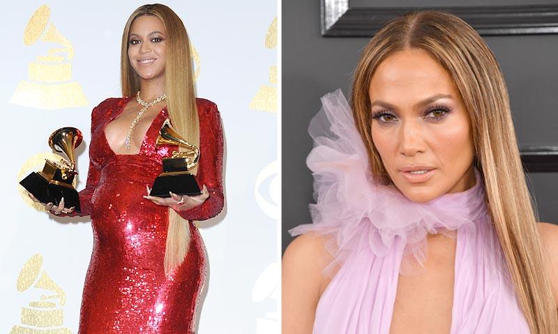 'Rojo Beyoncé', 'malva JLo', 'verde Adele'... Escalera de color en los Grammy