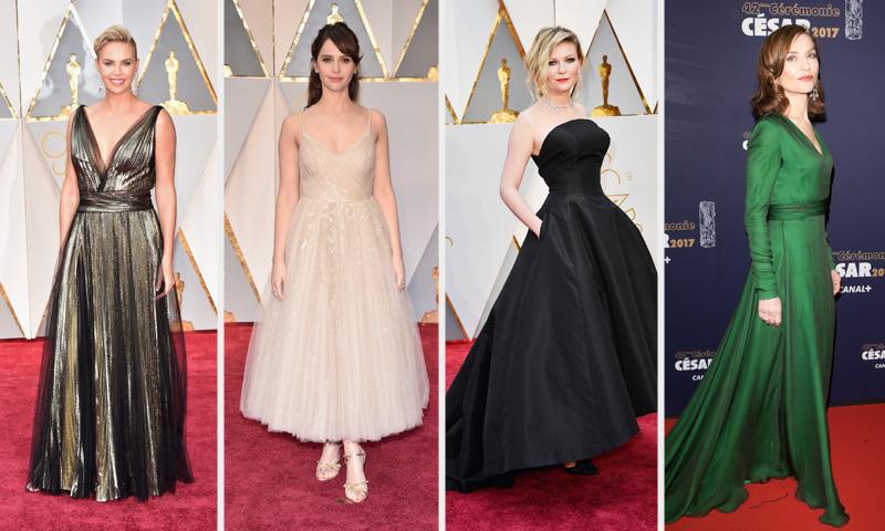 Entramos en el taller de Dior: ¿quieres ver los 'looks' de alfombra roja al detalle?