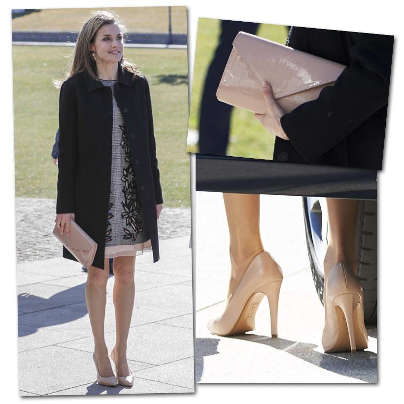 ¿Se deben combinar los zapatos con el bolso? Las 'royals' tienen la respuesta