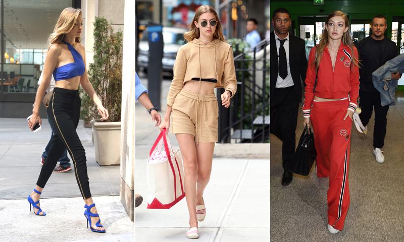 'Athleisure': Aprende a llevar el chándal con tanto estilo como Gigi Hadid