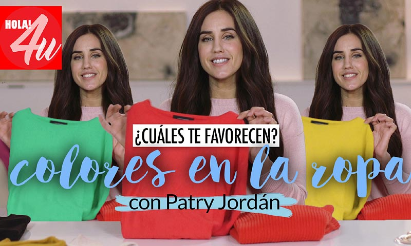 Descubre qué colores te favorecen y saca el mejor partido de tu imagen, por Patry Jordán en HOLA!4u
