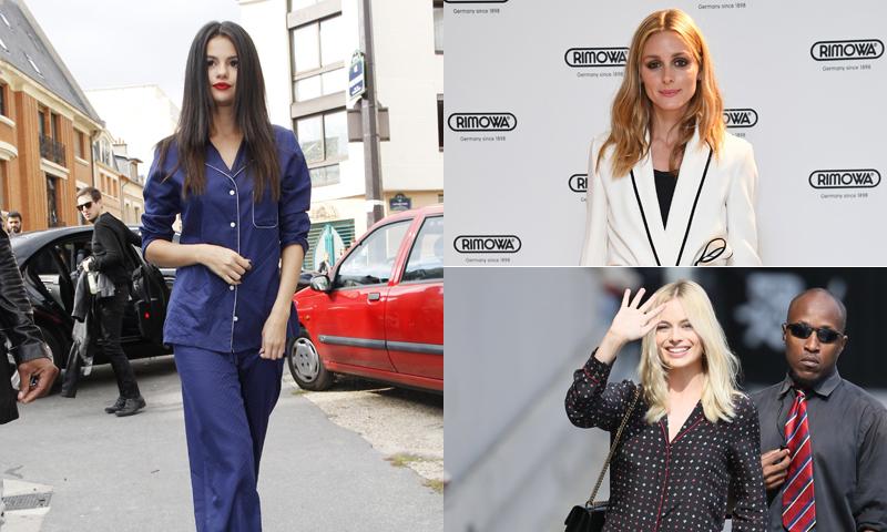 f9d233dfe Cómo salir a la calle en pijama con el estilo de Selena Gomez