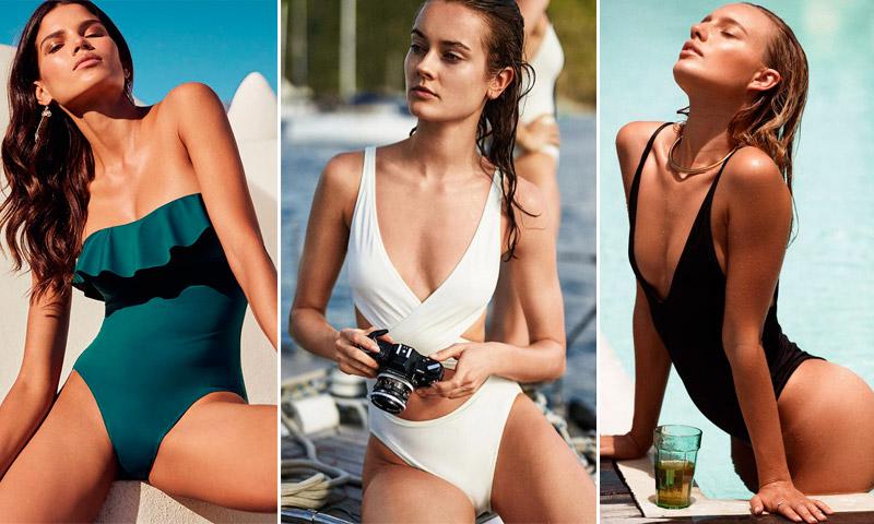¡Cambio de pareja! Estos son los 10 bañadores que te harán olvidar al 'bikini'