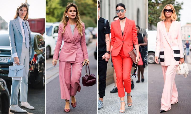 'Working looks': Del rosa al celeste, ¡dale vida a tu traje sastre!