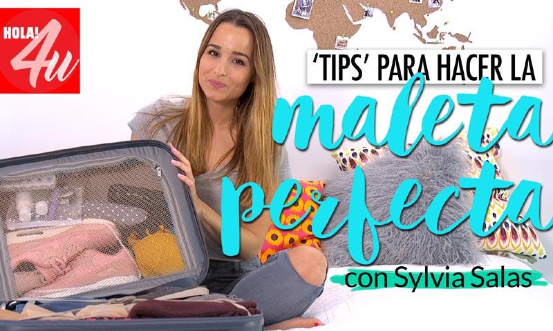 ¿Te vas de viaje? Aprende a hacer una maleta de forma fácil (y rápida), con Sylvia Salas en HOLA!4u