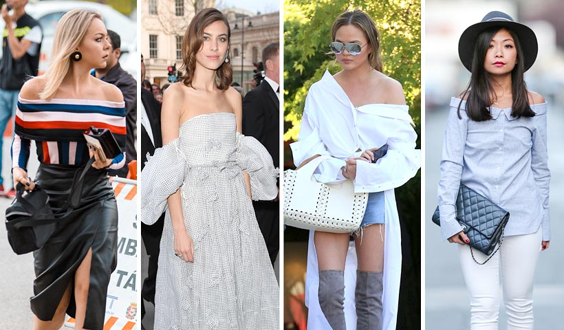 'Off-the-Shoulder': 7 formas de lucir los hombros al desnudo (como hacen las 'celebs')