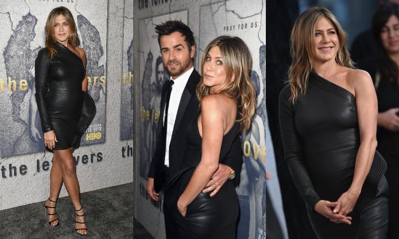 Jennifer Aniston, 48 años y un 'look' de cuero que arrasa