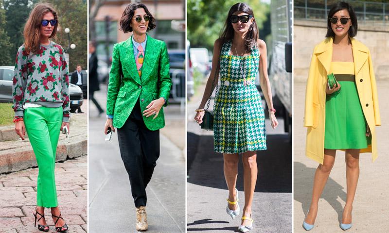 Y el color que triunfa este año (según Pantone) es… ¡el 'greenery'! Aprende a llevarlo
