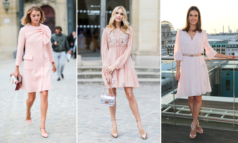 Olvida el negro, la primavera se rinde al 'Little Pink Dress'