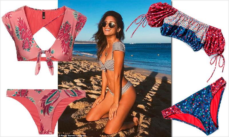 Bikinis… ¡con mangas! Así es la nueva tendencia que arrasa en moda de baño