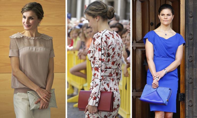 Las 'royals' lo tienen claro: su bolso, siempre de mano