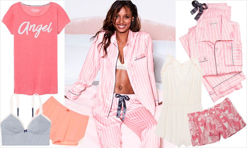 ¡Durmamos como los ángeles (literalmente)! Conoce la colección 'homewear' de Victoria's Secret