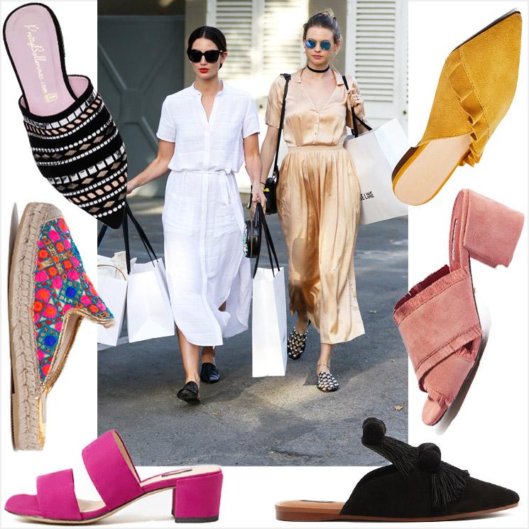 88738e175cf Y el calzado imprescindible de este verano es… ¡el mule! - Foto