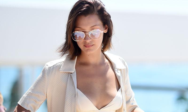 La imagen que demuestra cómo Bella Hadid quiere ser protagonista en Cannes