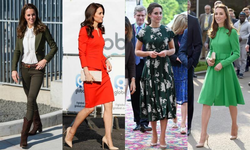 ¿Cómo sería el armario cápsula de Kate Middleton?