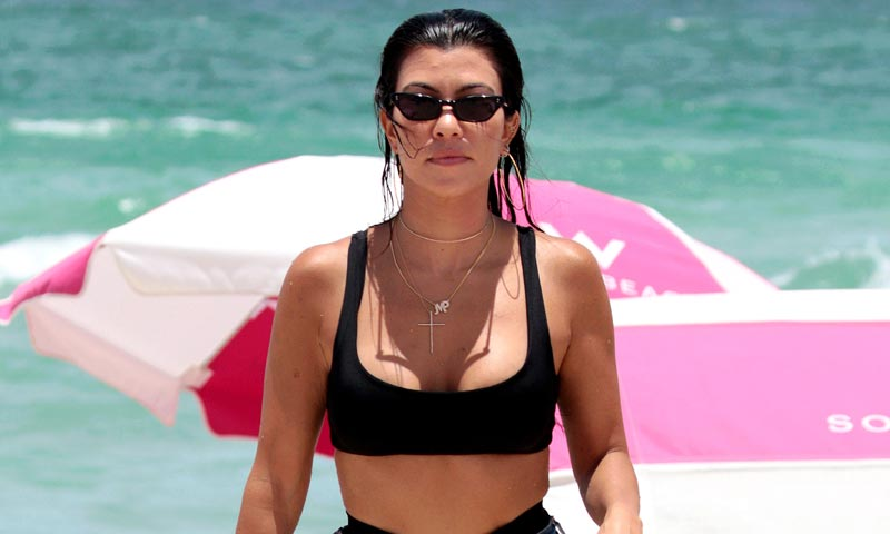 El culotte-tanga más sexy es para cuerpos con curvas, palabra de Kourtney Kardashian