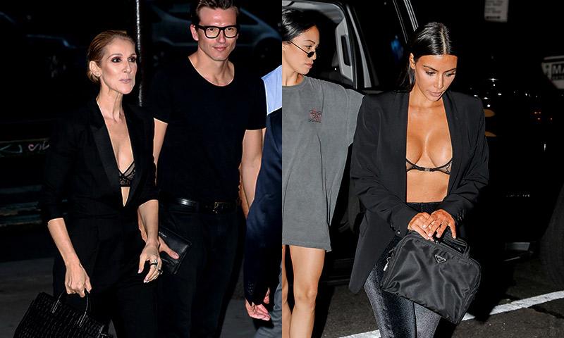 Celine Dion se apunta a la tendencia de enseñar la ropa interior al más puro 'estilo Kardashian'
