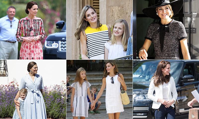 ¿Qué marcas asequibles visten las 'royals' europeas?