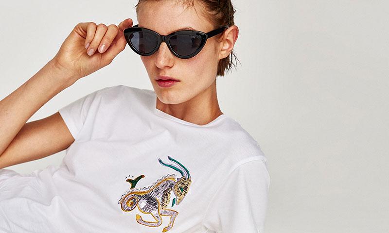 Zara se inspira en Khloé Kardashian para su nueva línea de camisetas
