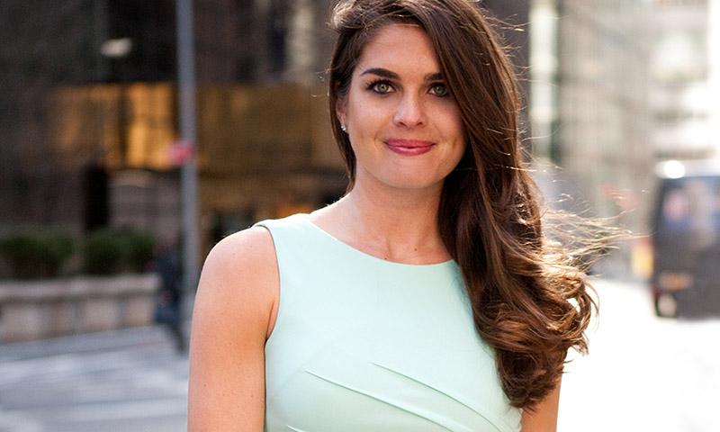 El estilo de Hope Hicks, la nueva asesora millennial de la Casa Blanca