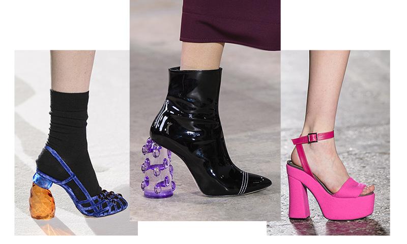 El tacón sorpresa y las 9 tendencias de zapatos que llevaremos a partir de septiembre