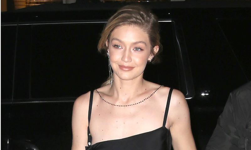 El extraño caso del vestido de Gigi Hadid que engaña a la vista