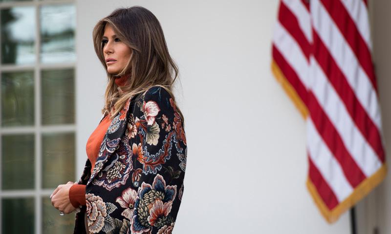 ¿Ha encontrado Melania Trump su uniforme más poderoso?