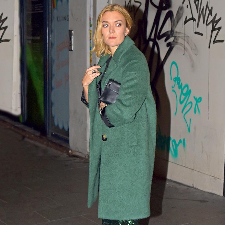 aaff56e74ca62 Marta Ortega y el abrigo verde de Zara que ha estrenado antes que nadie