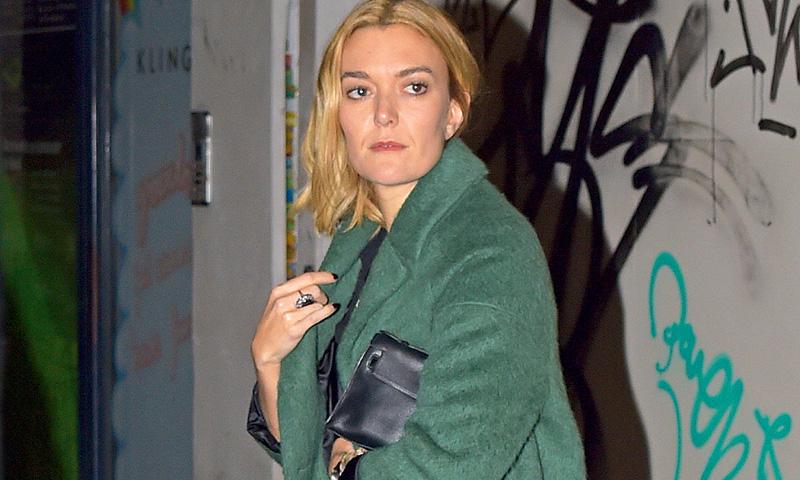 Marta Ortega y el abrigo verde de Zara que ha estrenado antes que nadie