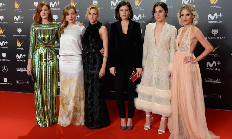 El escote de 'Las chicas del cable' y otros 10 aciertos en los Premios Feroz