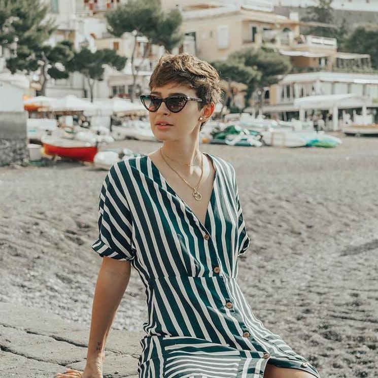 e5705c586e Laura Escanes elige: ¿cuáles son las gafas que mejor sientan con el pelo  corto
