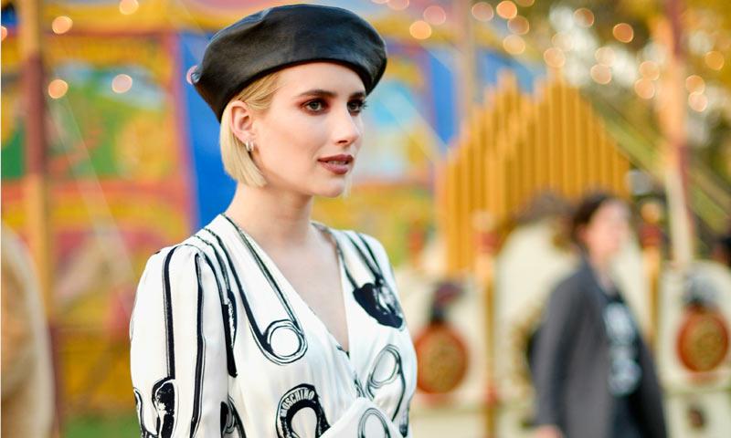 Emma Roberts lo tiene claro: el sombrero del verano no será el canotier