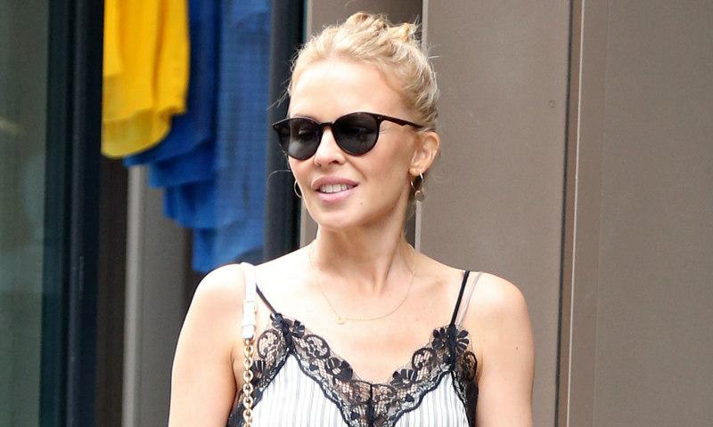 Si eres bajita y te gustan los vestidos largos, Kylie Minogue tiene un consejo para ti