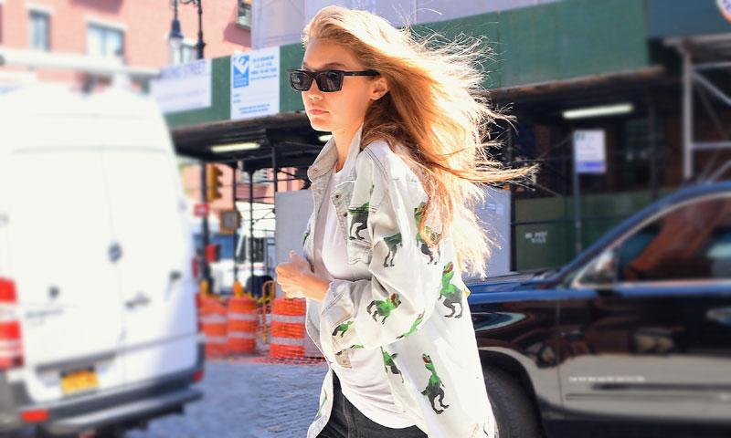 Gigi Hadid y Kendall Jenner: las supermodelos también reciclan ropa