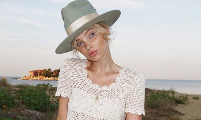 Elsa Hosk y Amber Heard o cuando un sombrero lo cambia todo