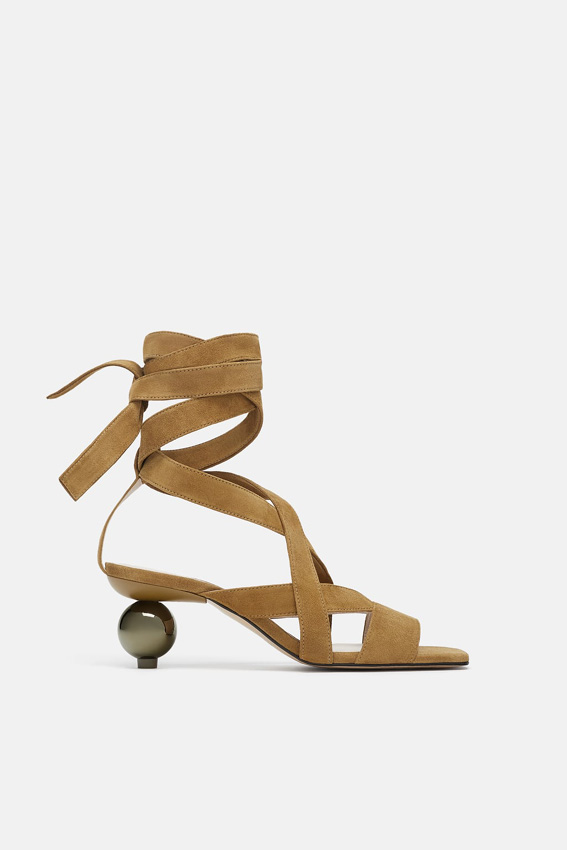 Que El De Diseño Geométrico Zapatos Estaban Las Esperando Tacón qntUx4wFX