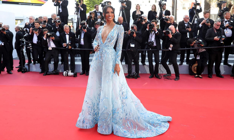 Modelos vs actrices: duelo de estilo sobre la alfombra roja de Cannes