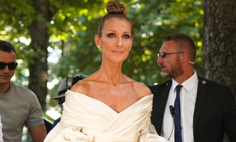 Céline Dion se convierte en novia por un día en París