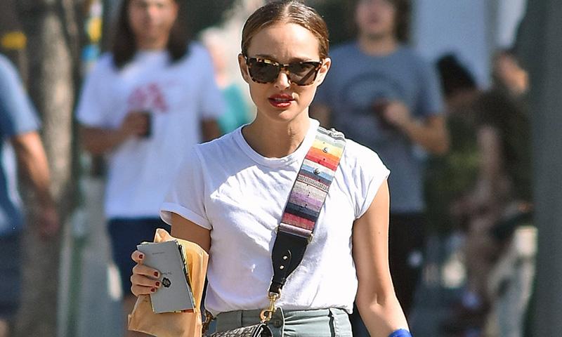 Natalie Portman se atreve con el look de las supermodelos