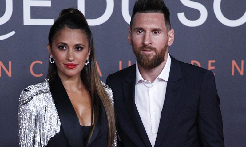 Antonela Roccuzzo se marca un 'Pedroche' en la gran noche de Leo Messi