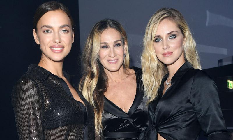 Irina Shayk, Chiara Ferragni y Sarah Jessica Parker: un color, tres looks de altura en Verona