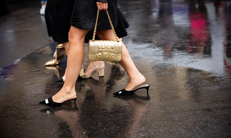 Doce zapatos de tacón cómodo para llevar en Fin de Año