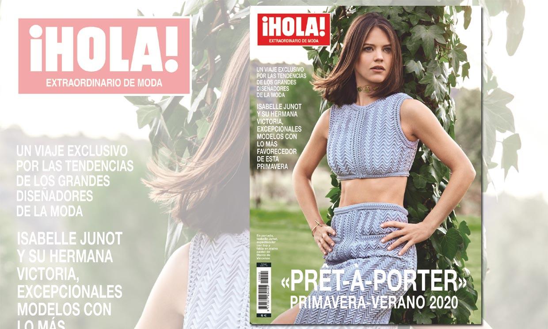 Isabelle Junot, modelo de excepción en el nuevo 'prêt-à-porter' de ¡HOLA!