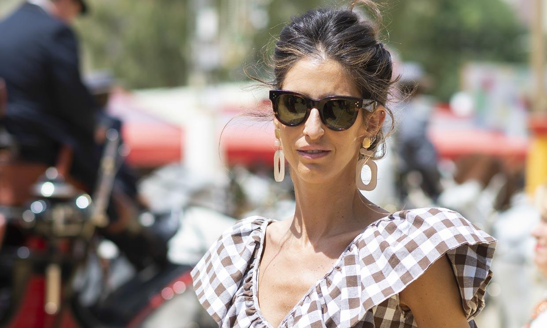 Atrevida y alegre: Inés Domecq presenta su nuevo proyecto de moda en ¡HOLA!