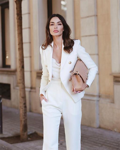 Cabaña Temporada Mar  Zara y el traje blanco: cómo combinar el fenómeno de la temporada - Foto 1