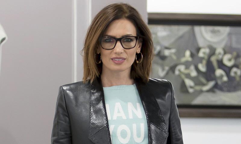 El mensaje motivador de Nieves Álvarez con su look más ingenioso: 'Sé una estrella'