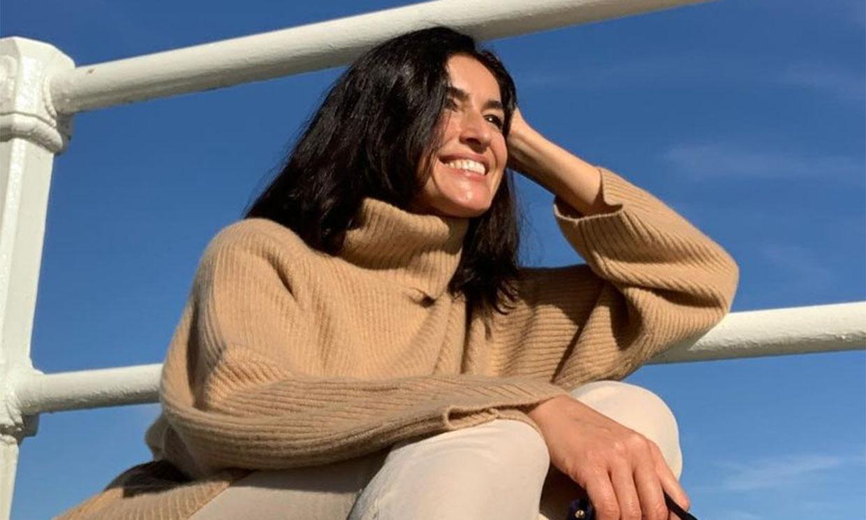 Jersey de Mango y zapatillas, el look de Blanca Romero para sus momentos de desconexión en Asturias